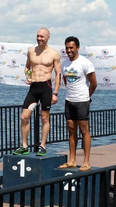 Red Bank Triathlon Podium